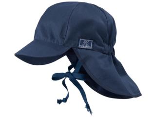Baby und Kinder Mütze Felix UV-80 marine