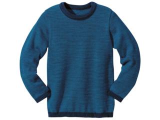 Kinder Strickpullover marine-blau