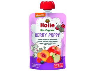 """Pouchy """"Berry Puppy"""" Bio-Früchtepüree"""
