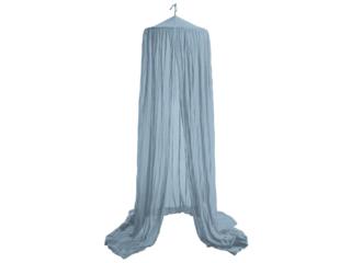 Betthimmel Bio-Baumwolle sassy blue