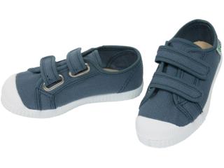 Kinder Schuhe Sneaker mit Klettverschluss jeansblau