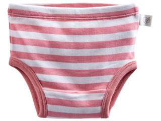 Baby und Kinder Slip Bio-Baumwolle rosa-off white