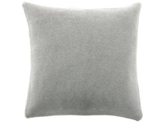 Kissenbezug 50x50 cm Bio Baumwolle vanilla-grey-melange