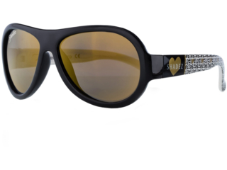 "Kinder Sonnenbrille Junior ""Love Black"""