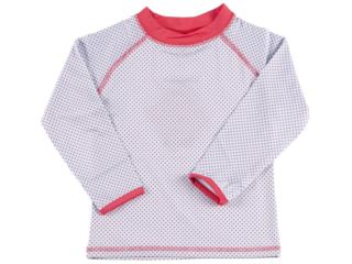 "Kinder Langarmshirt Badeshirt UV Schutzkleidung UV 50+ ""Dot"""