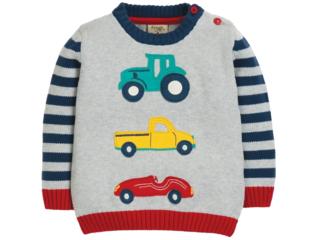 Baby und Kinder Pullover Fahrzeuge