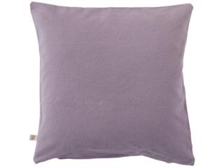 Kissenbezug Bio-Baumwolle Biber-Qualität lila