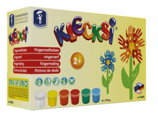 Klecksi Basic Maxi Malfarben Fingerfarben
