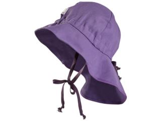 Baby und Kinder Mütze Feuerwehr UV-80 mystisch lila