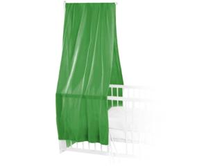 Betthimmel Bio-Baumwolle apfelgrün