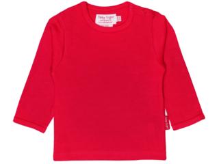 Baby und Kinder Langarmshirt rot