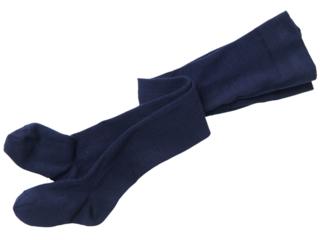 Kinderstrumpfhose Schurwolle / Baumwolle (kbA) marine