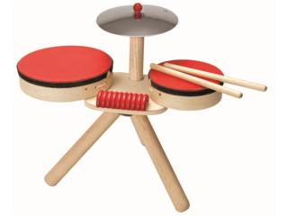Kinder Schlagzeug aus Kautschukholz