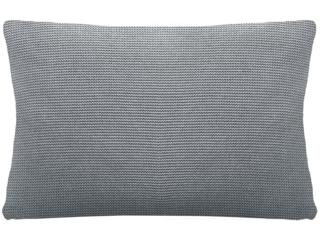 Kissenbezug 40x60 cm Bio Baumwolle light grey-melange