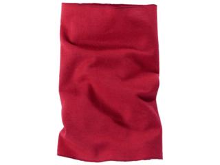 Kinder Schlauchschal Wolle Seide rot