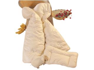 Baby- und Kinderschlafset Merino-Schafschurwolle (kbT)
