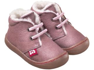 """Kinder Schuhe """"Juan"""" pflanzlich gegerbt malve"""