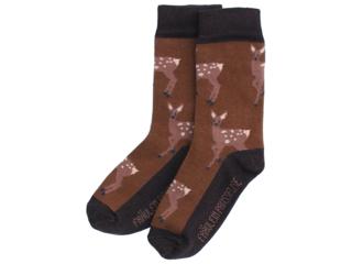 Kinder Socken Reh