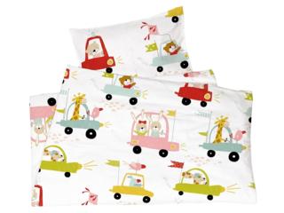 Kinderbettwäsche Bio-Baumwolle Autos