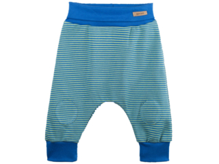 Baby Hose UV Schutzkleidung UV 50 grün-blau-gestreift