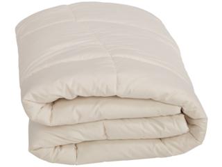 Bettdecke für Erwachsene Schurwolle mit Zirbe