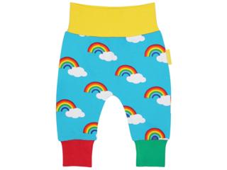Baby und Kinder Hose Regenbogen-türkis