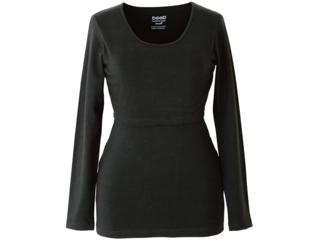 Still Shirt Langarm schwarz
