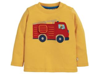 Baby und Kinder Langarmshirt Feuerwehr