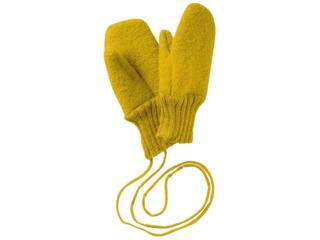 Baby und Kinder Handschuhe, Merino-Wollwalk (kbT) curry