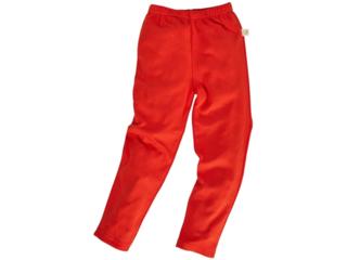 Kinder Leggings Bio-Baumwolle rot