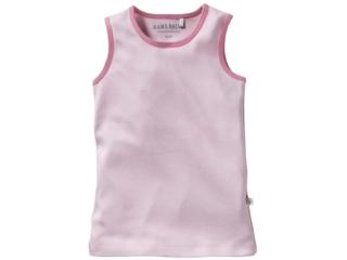 Kinder Unterhemd Bio-Baumwolle Rosa