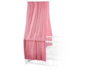 Betthimmel Bio-Baumwolle rosa