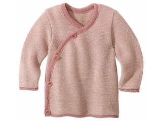 Baby-Jacke melange-rosé