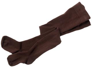 Kinderstrumpfhose Schurwolle / Baumwolle (kbA) schocko
