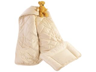Baby- und Kinderschlafset Babykamelflaumhaar